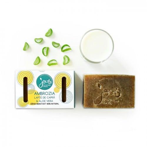 Ambrozia - Aloe Vera - sapun natural cu lapte de capra
