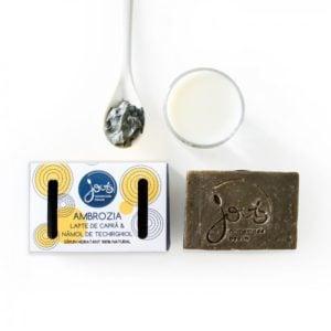 Ambrozia - Namol de Techirghiol - sapun natural cu lapte de capra