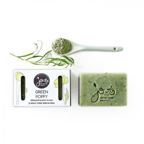Green Poppy - sapun natural exfoliant