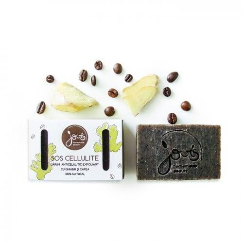 SOS Cellulite - sapun natural exfoliant anticelulitic