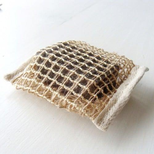 Saculet exfoliant sapun
