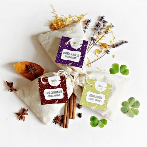 Ierburi aromate - saculet parfumat
