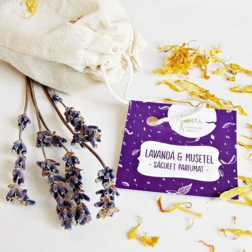 Lavanda & Musetel - saculet parfumat