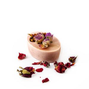 Sapun natural parfumat cu trandafir